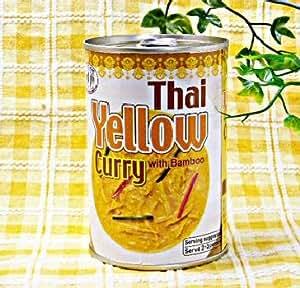 【たっぷりのココナッツミルクと赤唐辛子・ターメリックで仕上げた缶詰タイプ】タイイエローカレー缶400gX5缶