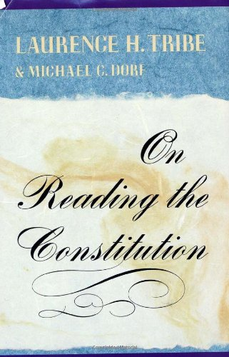 Download On Reading the Constitution 0674636260