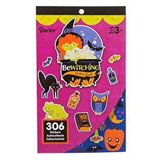 Halloween Sticker Book for Kids: Bewitched, 306 Stickers (B07HS2NDFN) | Amazon Products