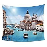 世界の建築シリーズ家の装飾タペストリー壁の壁の装飾ビーチタオル毛布 (Style : 2)