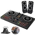 PIONEER DJ スマートDJコントローラー DDJ-200 + スピーカー Z200 + スマホスタンド + ステッカー付き セット