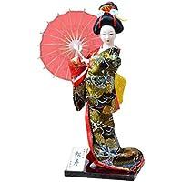 和風の美しい着物芸者/舞妓人形/ギフト/ジュエリー-A7