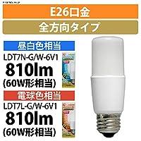 (業務用セット)アイリスオオヤマ LED電球 E26 T形 60形相当 昼白色【×48セット】 LDT7N-G/W-6V1