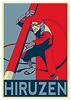 ポスターナルト「Propaganda」Hiruzen Sarutobi–formato a3( 42x 30cm )