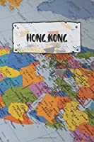 Hong Kong: Ruled Travel Diary Notebook or Journey  Journal - Lined Trip Pocketbook for Men and Women with Lines
