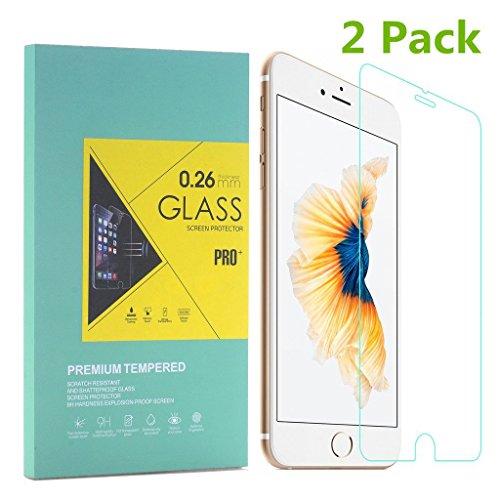 Ilinkbrand 対応 4.7インチ用液晶保護強化ガラス...