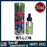 エイプ NASTY JUICE(ナスティジュース) 50ml リキッド 海外 電子タバコ (Green APE(グリーンエイプ)50ml YummyFruityシリーズ)