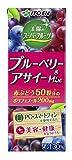 伊藤園 太陽のスーパーフルーツ ブルーベリー&アサイーmix (紙パック) 200ml×24本 ×2セット