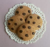 Chocolate Chip Cookies Set of 4 - Perfect for 18 Inch American Girl� Dolls