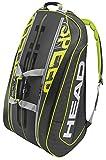 HEAD(ヘッド) テニス ラケットバッグ SPEED モンスターコンビ(12本収納可) 283506