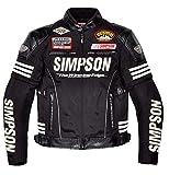 シンプソン(SIMPSON) メッシュジャケット BLACK LW SJ-5115
