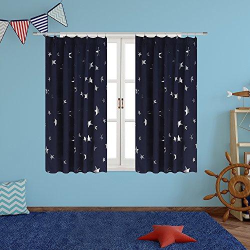 箔押し星空模様デザイン、BUZIO星空藍高精密な生地の特製一...