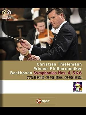ベートーヴェン:交響曲第4番/第5番「運命」/第6番「田園」(ティーレマン/ウィーン・フィル)
