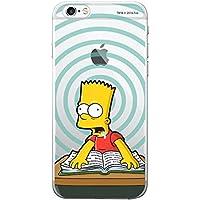 〈iPhone7/8・アイフォン7/8〉 シンプソンズ クリアー ゼリー ケース The Simpsons Clear Jelly Case スマホ 携帯 スマートフォン ケース 柔らかい 透明 ソフト アニメー 人気 可愛い スリム カバー 〔タイプ⑧・Type⑧〕