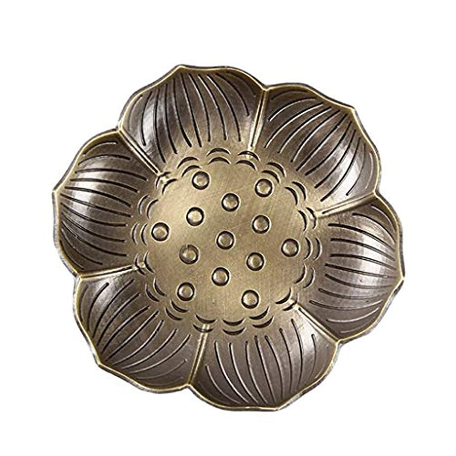 技術糸あいまいな合金香炉コイルバーナークリエイティブホームオフィスの装飾香バーナークラシック梅スティックスティック香ホルダー (Color : D)