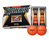 DUNLOP(ダンロップ) SRIXON Z-STAR ゴルフボール 1ダース  プレミアムパッションオレンジ