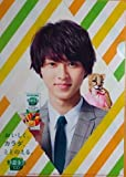 KAGOME 野菜生活100 × 山崎 賢人 A4 クリア ファイル