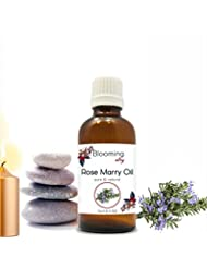 Rose Marry Oil (Rosmarinus Officinalis) Essential Oil 15 ml or .50 Fl Oz by Blooming Alley