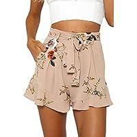 Gillberry Pants Women's Sexy Skirt Summer Loose Pants Print Flower Short Pants