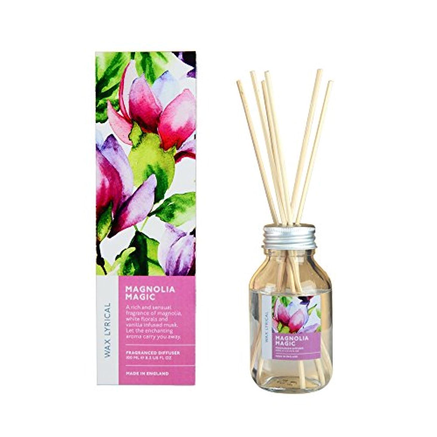 屋内で繁殖オゾンWAX LYRICAL ENGLISH FLOWERS マグノリアマジック