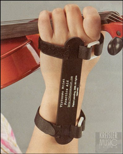 バイオリン&ビオラ用 左手首 矯正バンド 正しくバイオリン(ビオラ)を持つために♪