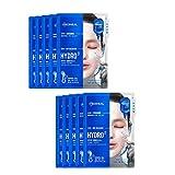 メディヒールカプセル100バイオセカンダムハイドロベータマスクパック10枚、Mediheal Capsule100 Bio Seconderm Hydro Mask Pack 10 Sheets [並行輸入品]