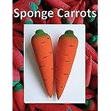 2 枚 スポンジニンジン / 2 pcs Sponge Carrots -- マジックアクセサリー / Magic Accessories / マジックトリック/魔法; 奇術; 魔力 …