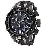 (インビクタ) INVICTA Bolt Chronograph Men Watch with Black Polyurethane Bracelet ボルト クロノグラフ 男性腕時計 黒 ポリウレタ