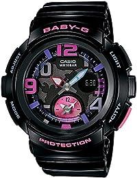 [カシオ] 腕時計 ベビージー BEACH TRAVELER BGA-190-1BJF ブラック