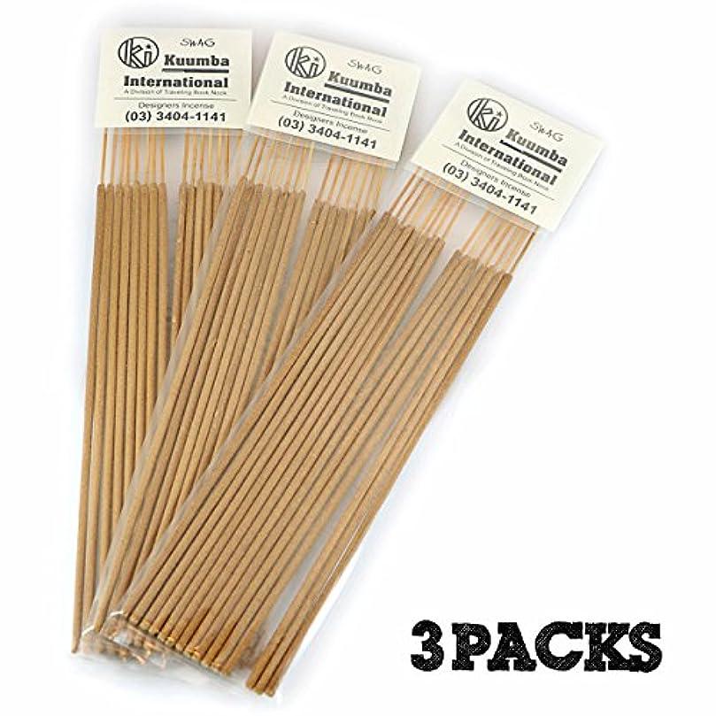 費用ボードのヒープKuumba | クンバ お香 | Regular size | 3パックセット | SWAG