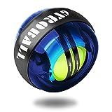 ACELETE リストボール オートスタート 2017年版 自動回転モデル 手首 握力 トレーニング (ブルー)