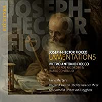 Joseph-Hector Fiocco: Lamentations/... by Mertens