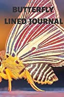 Butterfly Lined Journal: Cool Colourful Lined Journal, 120 Pages, 6 x 9, Blank Butterfly Journal To Write In