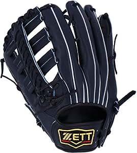 ゼット(ZETT) 硬式野球 プロステイタス グラブ (グローブ) 外野手用 ナイトブラック(1900N) 左投げ用 日本製 BPROG870