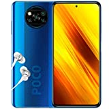 "Poco X3 NFC - Smartphone 6+128GB, 6,67"" FHD+ Punch-Hole Display, Snapdragon 732G, 64MP AI Penta-Camera, 5160mAh, Cobalt Blue (Official UK Version + 2 Years Warranty)"