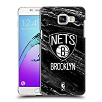 オフィシャルNBA B&Wマーブル ブルックリン・ネッツ Samsung Galaxy A5 (2016) 専用ハードバックケース