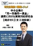 【Amazon.co.jp 限定】中小企業の「同一労働同一賃金」適用に向けた実務対応研究会【向井ゼミ】(全3回)動画DVD-ROM(S213)