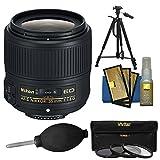 Nikon 35mm f / 1.8g af-s Ed Nikkorレンズwith 3UV / CPL / nd8フィルタ+三脚キット、d3200、d3300、d5300, d5500、d7100、d7200、..