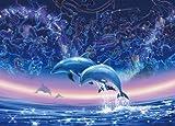 2000ピース 光るジグソーパズル 神話の海 (73x102cm)