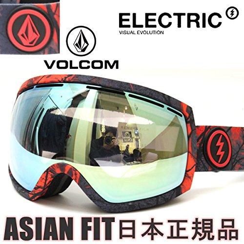 【在庫限最終特価】 ELECTRIC × VOLKCOM SNOW GOGGLE [ EG2 @36720 ] ドラゴン ゴーグル 安心の正規輸入品