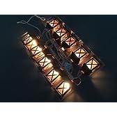 OBEST クリスマスライト 室内装飾 イルミネーションライト 10灯 クリスマスツリー 壁 窓 ドア 床 木 草など場所に最適 (屋)