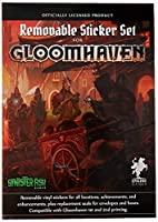 Gloomhaven 取り外し可能なステッカーセット