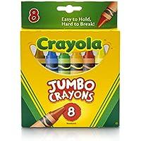 クレヨラ お絵かき ジャンボクレヨン 8色 Jumbo Crayons 520389