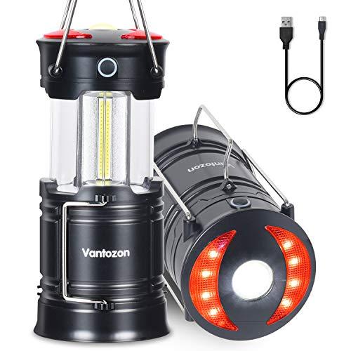 VANTOZON LEDランタン 高輝度 キャンプランタン usb充電式 B07W1JW15T 1枚目