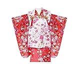 被布コート 9点セット 3歳 女の子着物 (BH-4)