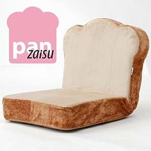 ふわっふわ 座椅子 厚切り食パンチェア 日本製 (トースト)