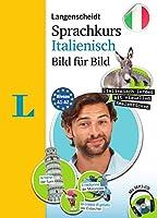 Langenscheidt Sprachkurs Italienisch Bild fuer Bild - Der visuelle Kurs fuer den leichten Einstieg mit Buch und einer MP3-CD