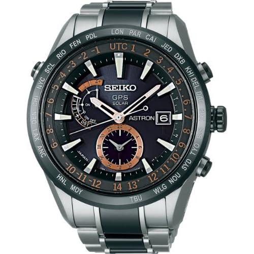 [セイコー]SEIKO 腕時計 SEIKO ASTRON セイコーアストロン ソーラーGPS衛星電波修正 サファイアガラス スーパークリア コーティング 日常生活用強化防水 (10気圧) セラミックベゼル・バンド SBXA017 メンズ