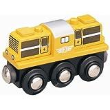 オリジナル木製トレインシリーズ 機関手車両(黄) 50814