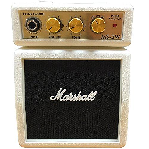 Marshall MS-2W ホワイト ミニアンプ (マーシャル MS2W)
